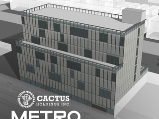 Cactus Holdings engages Metro Holdings & Development for construction of over 85,000 square feet