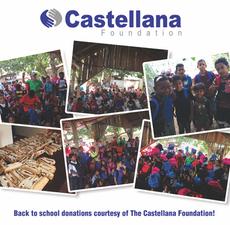 The Castellana Foundation donates back-to-school supplies to hundreds of children of Vaverde de Mao,