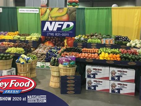 NFD's Produce showcase at KeyFood's 2020 Food Show at Nassau Coliseum