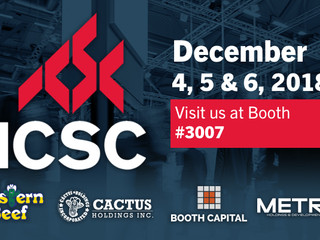 Cactus Holdings Inc. is proud to announce that we will be attending ICSC's 2018 New York Deal Ma