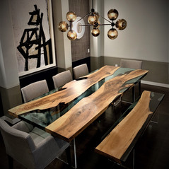 Fusion Dining Table & Bench