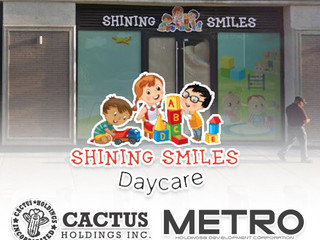 Cactus Holdings engages Metro Holdings & Development for build out of Shining Smiles daycare at