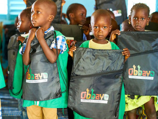 The Castellana Foundation supports The Obbayo Children's Foundation