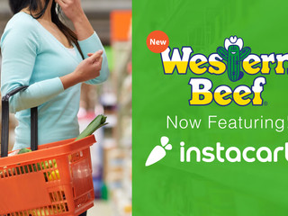 Western Beef launches pilot with Instacart for online grocery delivery in Florida, and the tri-state