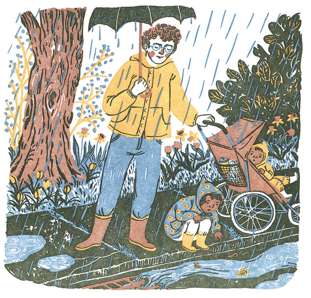 April/Rain Walk