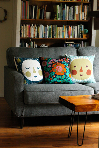 Illustrated Pillows