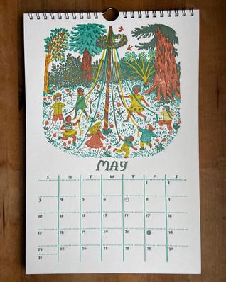 May, 2020 Nature Calendar