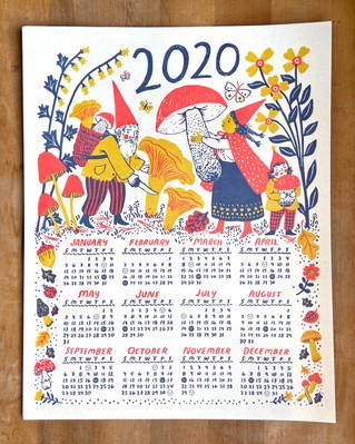 Harvest 2020 Calendar