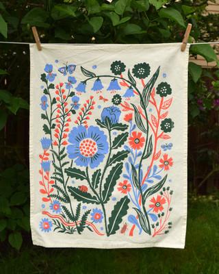 Flora Tea Towel