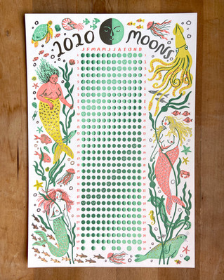 2020 Merfolk Moon Calendar
