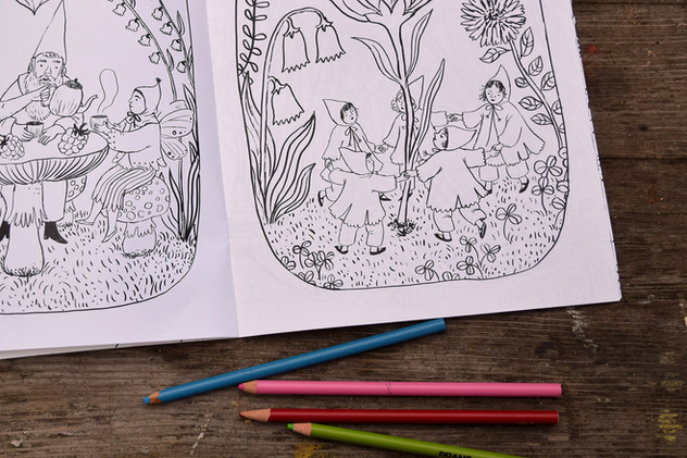 Fairyland Coloring Book