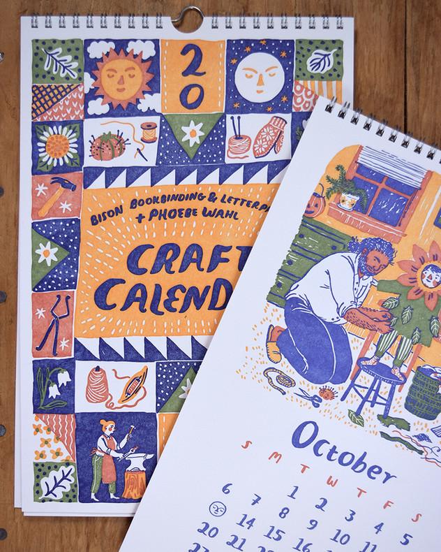 2019 Craft Calendar