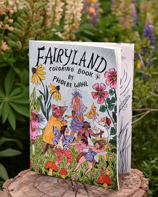 Fairyland Coloring Book