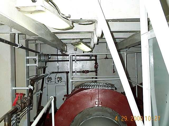 USS Detroit finished shaft area