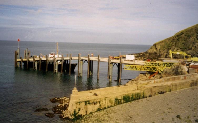Lundy Island Jetty