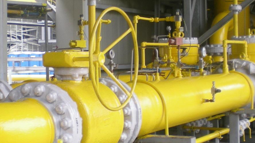 Alocit on gas supply line