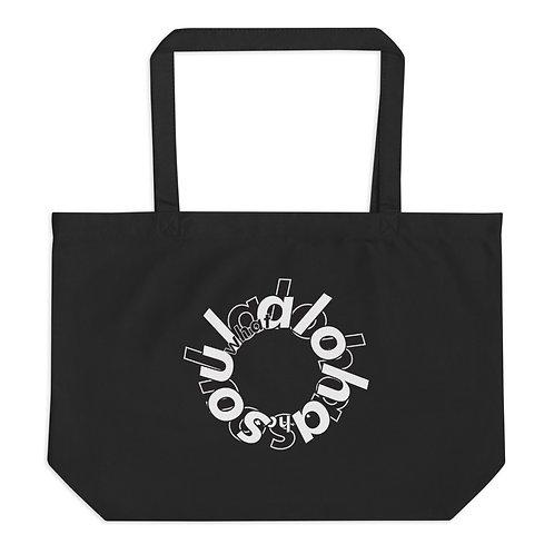 soul aloha v3 Large organic tote bag