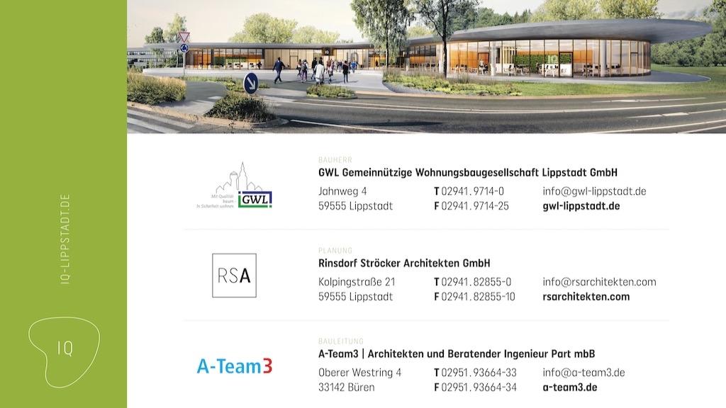 Bürogebäude Innovation Quarter, Lippstadt