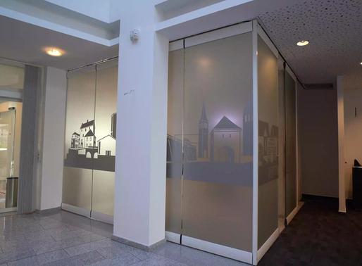 Gestaltung der Volksbank Brilon-Büren-Salzkotten eG, Salzkotten