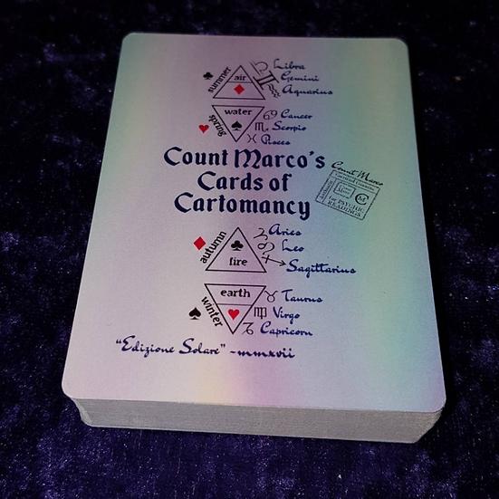 Count Marco's Cards of Cartomancy Edizione Solare