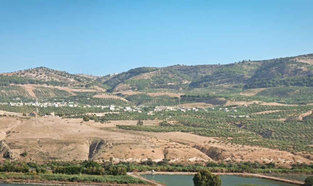 Image of the Golan Heights
