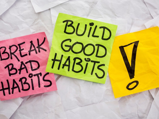Five Bad Habits To Break Right Now.