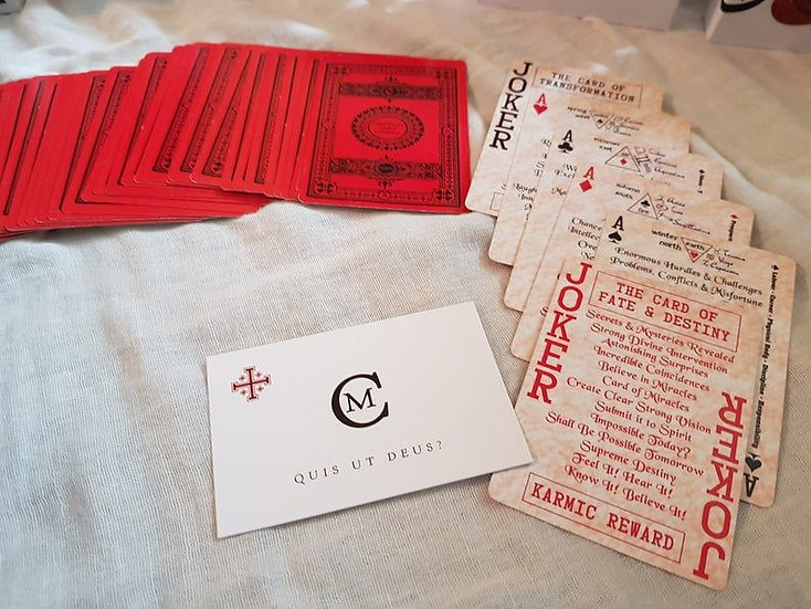 Count Marco's Cards of Cartomancy Rosa Rossa Edition