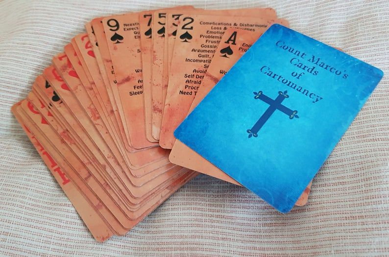 Count Marco's Cards of Cartomancy The Original