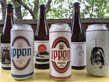 Dégustation de 6 bières de la série IPPON
