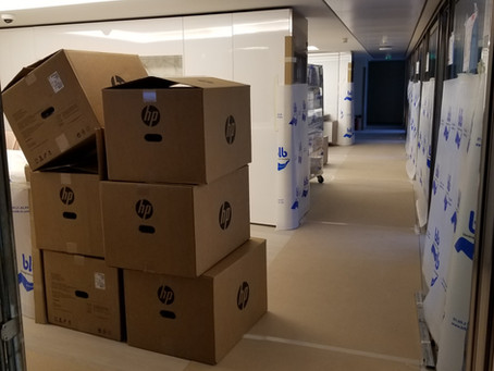 Global Law Firm - New Office Setup and Move - Paris