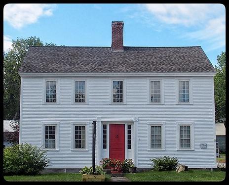 #1 John and Maria Webb House, c. 1830 -