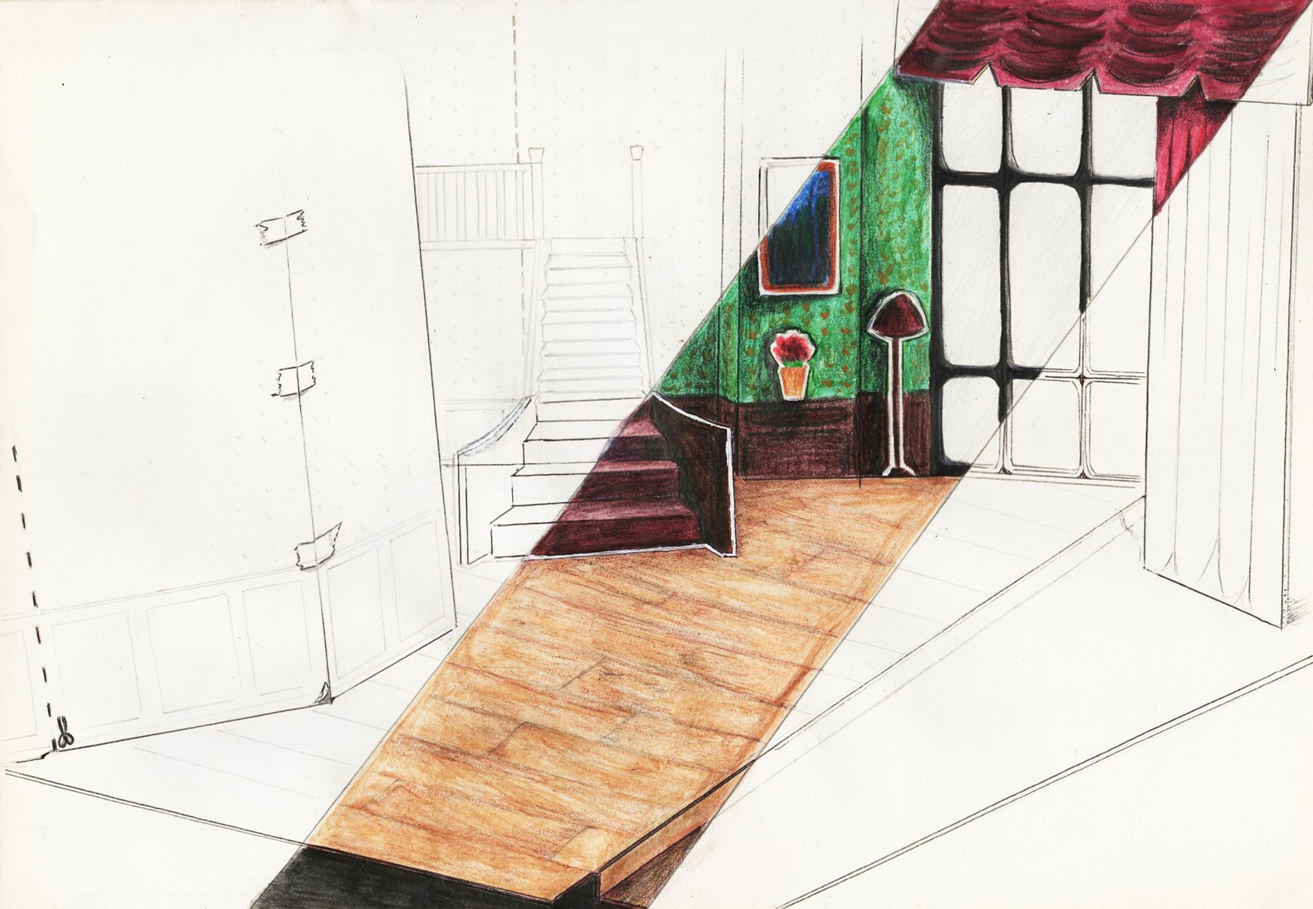 act 1 concept drawing