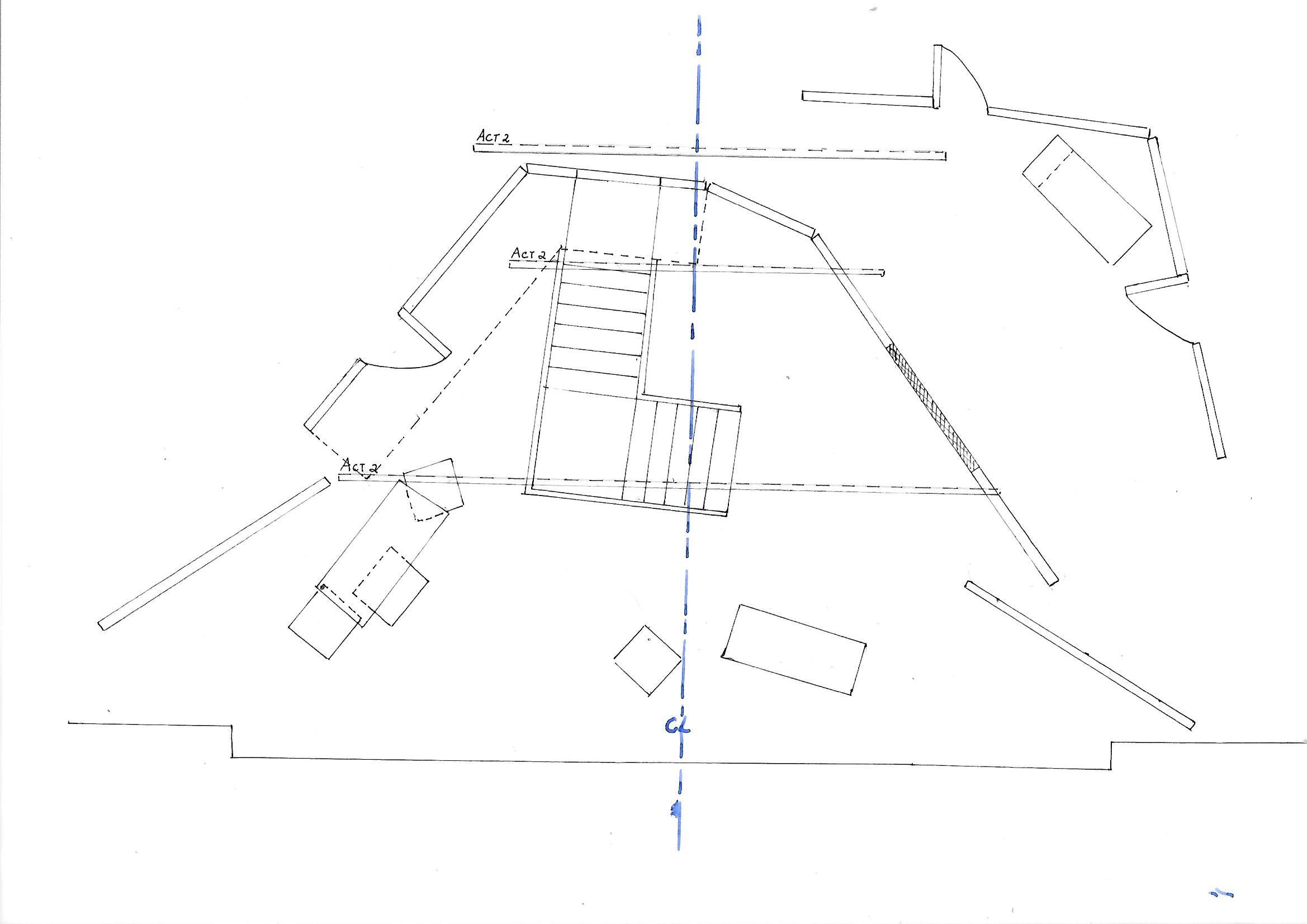 Hackney Empire stage plan