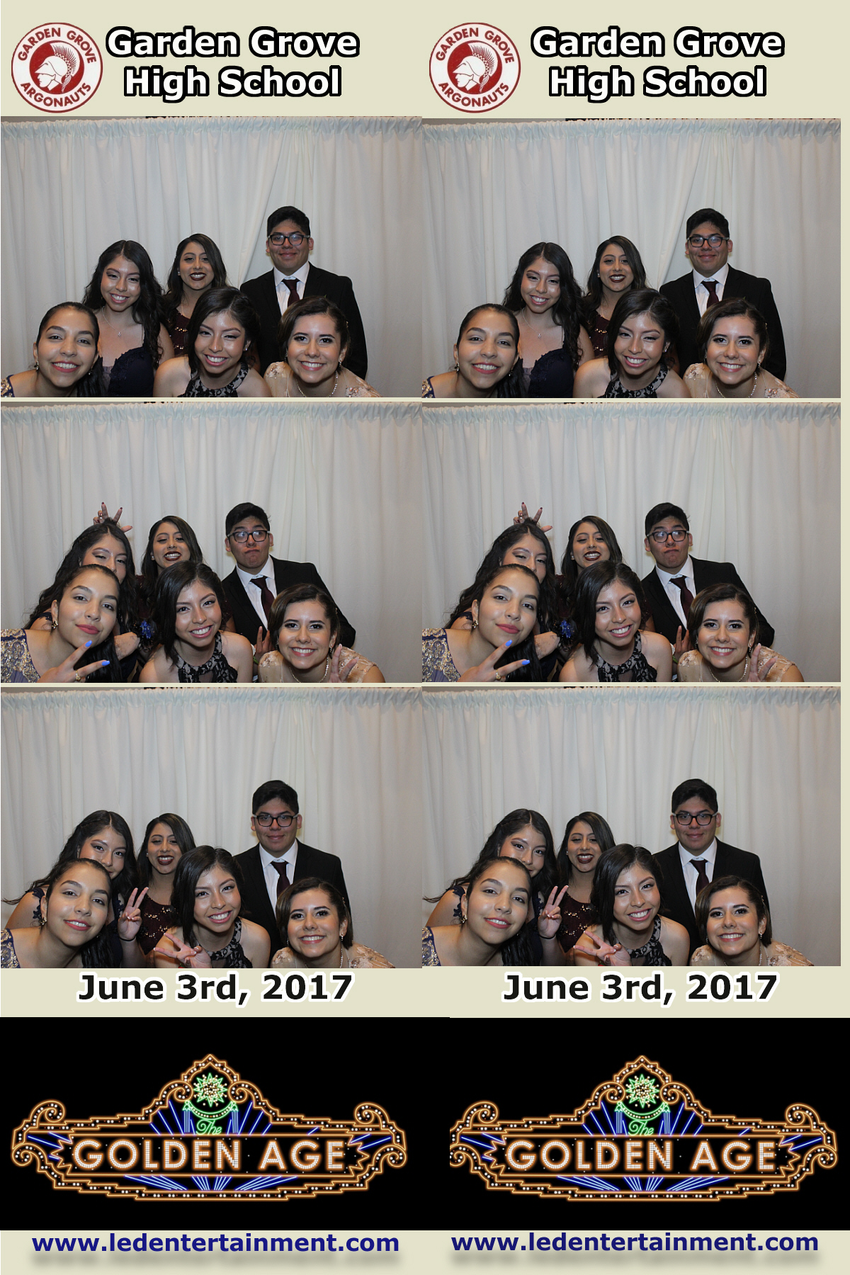 Garden Grove High School Prom