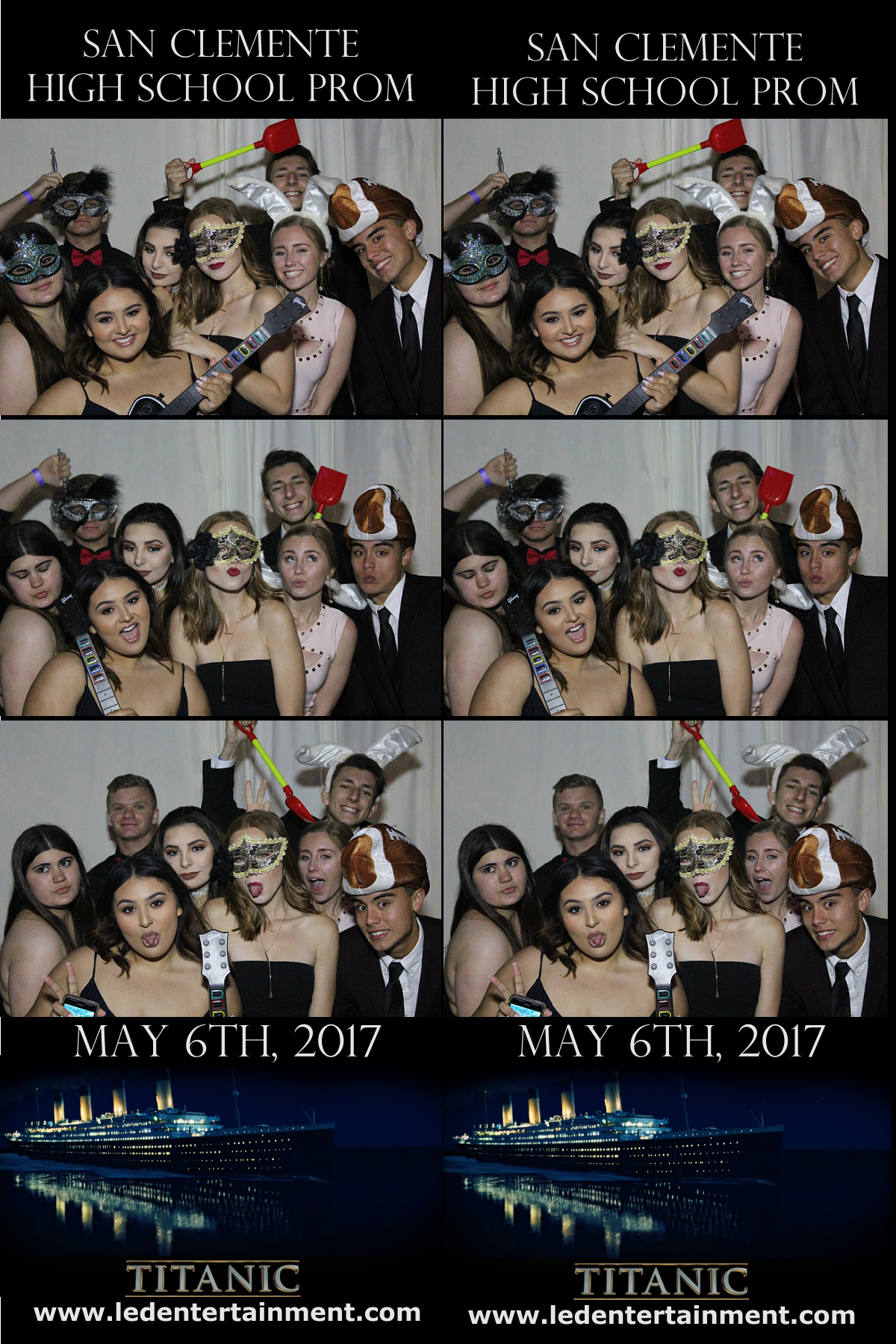 San Clemente High School Prom