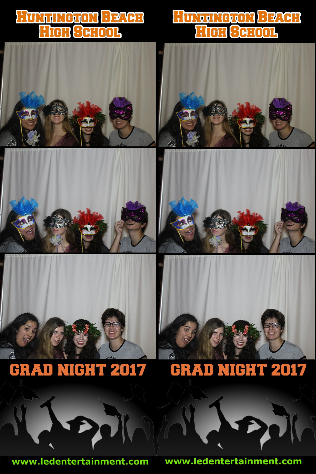 Huntington Beach HS Grad Night