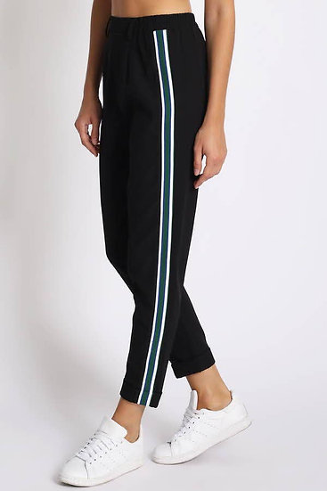 Cuffed Cropped Tape pants