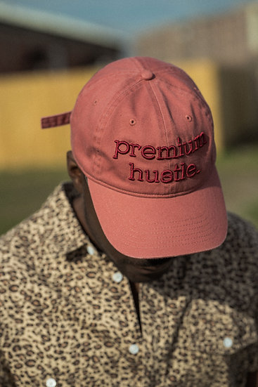 Premium Hustle Dad Hat