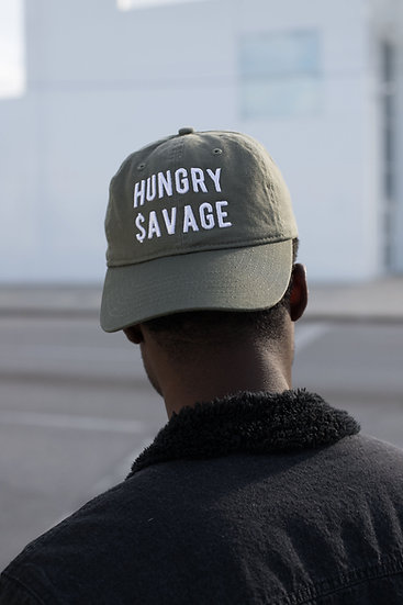 Hungry Savage Dad Hat