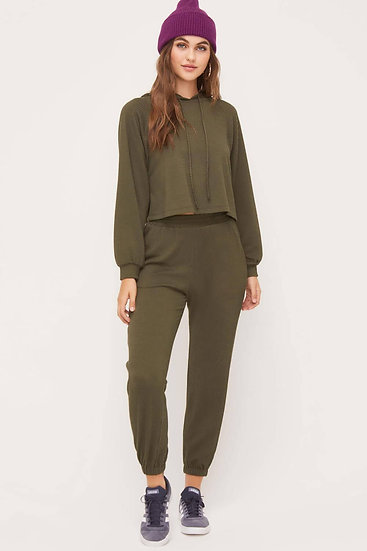 Lounge Set pants - Olive