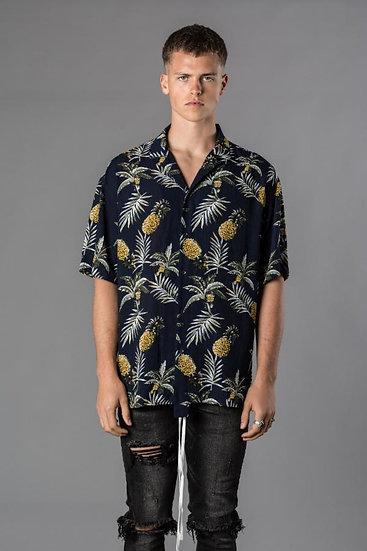 Resort Pineapple Button Down
