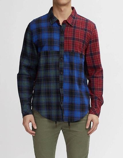 Color Block Flannel