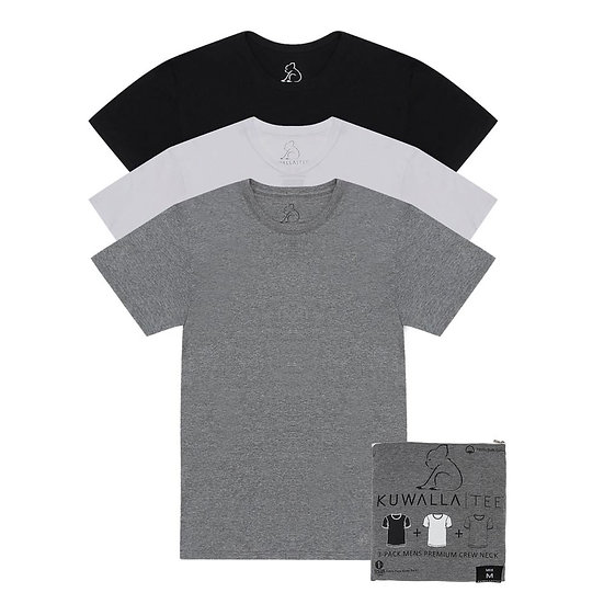 Crew Neck Tees 3-pack