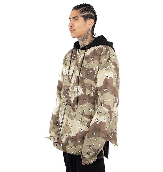 Hood Jacket Desert Camo