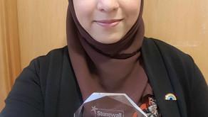 Life Stories: Hafsa Qureshi, Stonewall Bi Role Model 2019