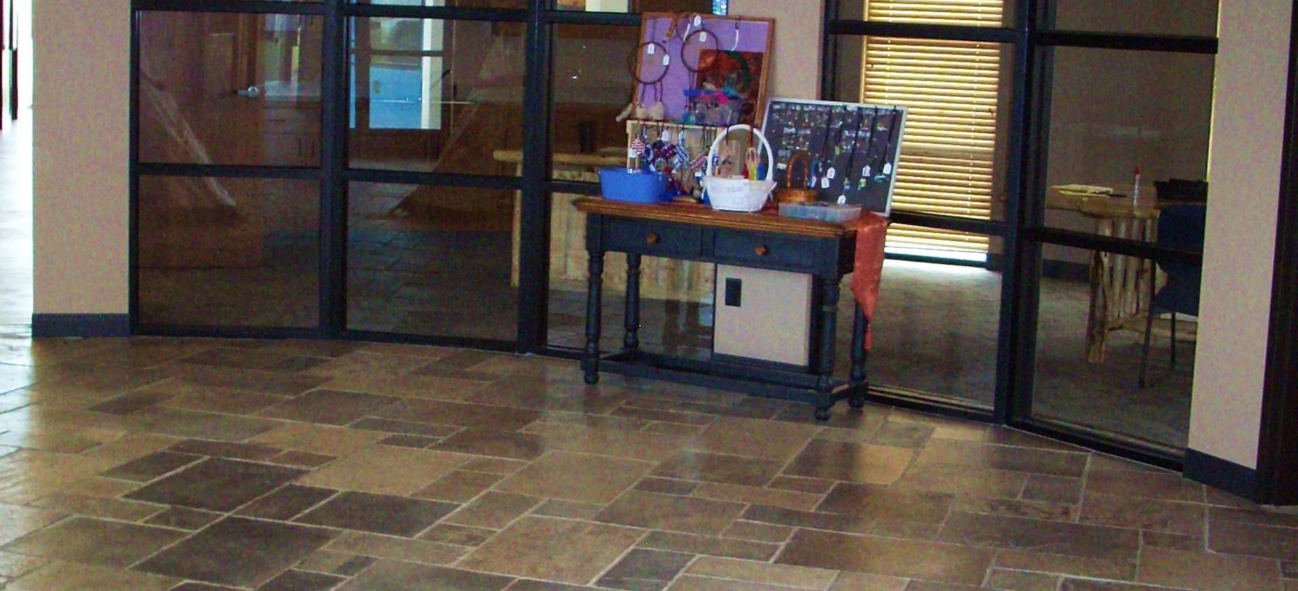 Midnight Limestone Floor.JPG