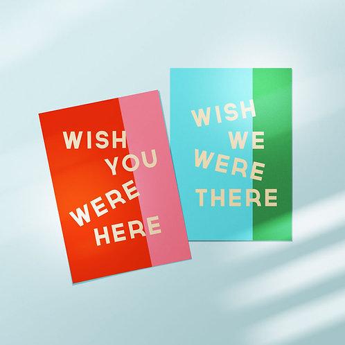 Wish Postcard Set
