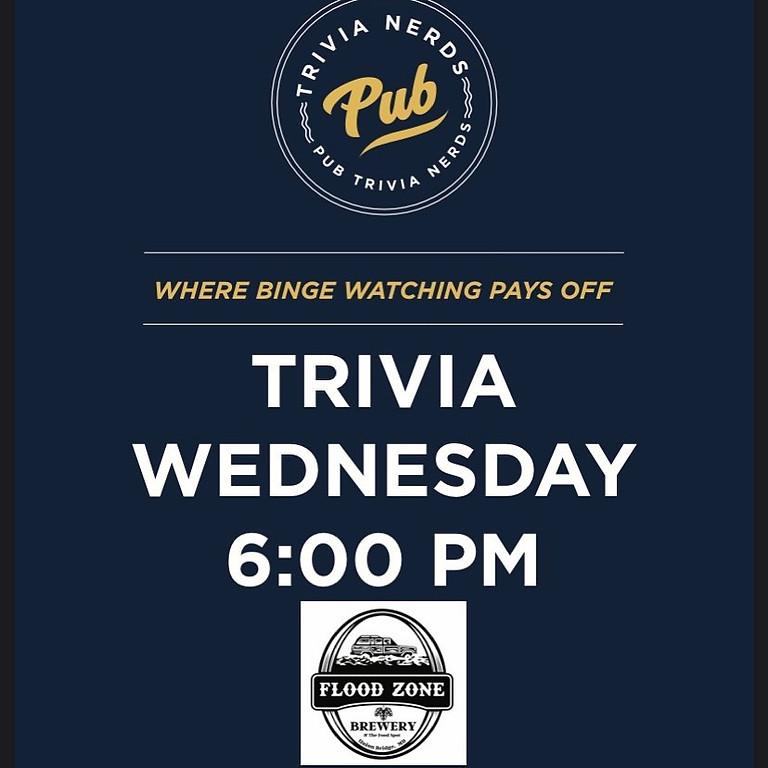 Pub Trivia Every Wednesday Night!