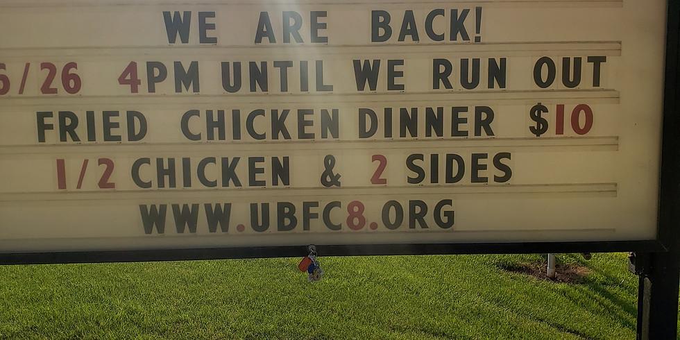 Union Bridge Fire Department CHICKEN DINNER!