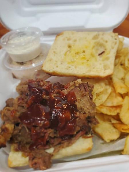 BBQ Beef Brisket Sandwich